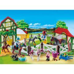 Jucarie Playmobil Christmas Calendar - Ferma calutilor