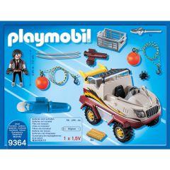 Jucarie Playmobil Tactical Police Unit - Masina de teren amifibie