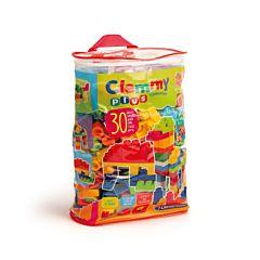 Jucarie Clementoni - Clemmy - Plasa cu 30 cuburi