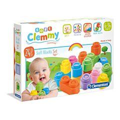 Jucarie Clementoni - Clemmy - Set 24 cuburi