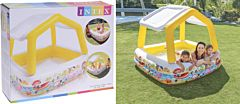 Centru de joaca gonflabil pentru copii, 157x157x122 cm
