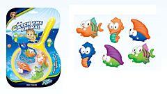 Set de pescuit Regency, 7 piese, Multicolor