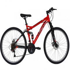 """Bicicleta MTB-FS 26"""" VELORS Energy V2660D, cadru otel, frane mecanice disc, 18 viteze, culoare rosu/negru"""