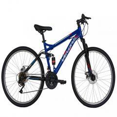 "Bicicleta MTB-FS 26"" VELORS Energy V2660D, cadru otel, frane mecanice disc, 18 viteze, culoare albastru/negru"