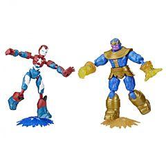Set Avengers bend&flex