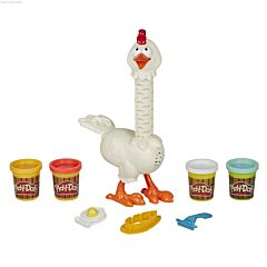 Set Play-Doh Animal Crew: Puiul cu pene colorate