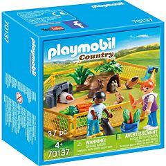 Jucarie Playmobil Tarc cu animalute, plastic, 14.2 x 14.2 x 6.6 cm, Multicolor