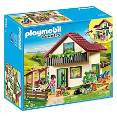 Jucarie Playmobil Casa de la ferma, plastic, 38.5 x 34.8 x 12.3 cm, Multicolor