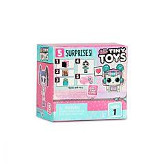 Papusa Surpriza LOL Tiny Toys cu 5 accesorii