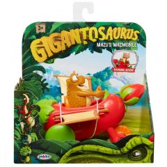 Figurina cu autovehicul Gigantosaurus