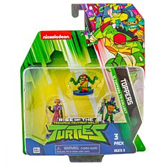 Set 3 figurine surpriza Ninja Turtles