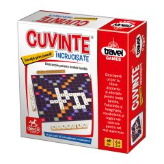 Joc de societate Travel Games Cuvinte Incrucisate, Deico Games