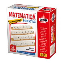 Joc de societate Travel Games Matematica distractiva, Deico Games