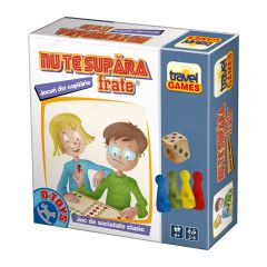 Joc de societate Travel Games Nu te supara frate, D-toys