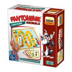 Joc de societate Travel Games Pantomime animale, D-toys