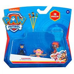 Set 3 figurine surpriza Paw Patrol, atasabile la creion