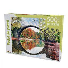 Puzzle Noriel Podul de piatra, 500 piese