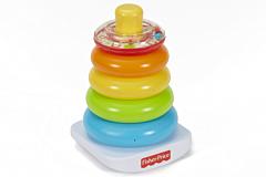 Jucarie piramida pentru bebelusi Rock-a-Stack Fisher Price