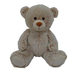 Urs de plus sezand, 40 cm, Crem