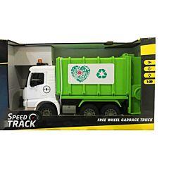 Camion de gunoi, 1:20, plastic, Verde