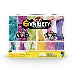 Set 6 cutii Play-Doh Sand Variety