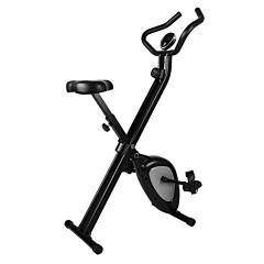 Bicicleta de fitness pliabila, 47x77x126 cm, Negru