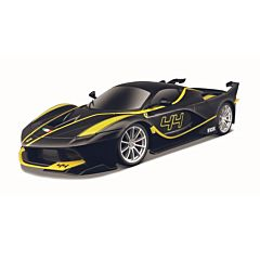 Masina Ferrari Fxx K F1, 1:14, frecventa 2.4 GHZ, plastic, Negru/Galben