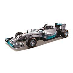Masina Mercedes Amg Petronas F1, 1:14, 2.4 GHZ, plastic, Gri