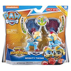 Set 2 figurine Mighty Twins Paw Patrol