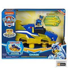 Vehiculul de transformare al lui Chase Paw Patrol