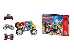 Puzzle magnetic 3D, 21 piese, plastic, Multicolor