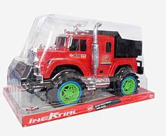 Camioneta cu frictiune, 29x48x29.5 cm, plastic, Multicolor