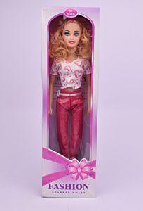 Papusa muzicala Fashion Sparkle Dolls, plastic, 56 cm, Multicolor