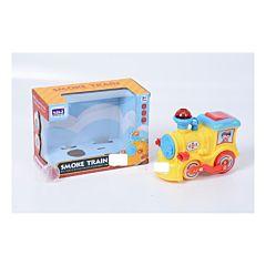 Locomotiva electrica simpatica Piccolino, plastic, Multicolor