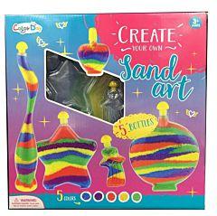 Set de creatie Sticlute cu nisip colorat 304 Piccolino