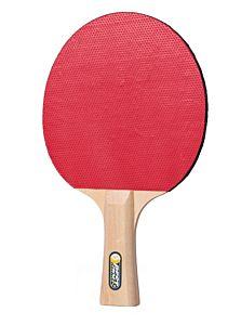 Paleta tenis masa pentru incepatori Best Sporting, lemn/cauciuc, Bej/Rosu