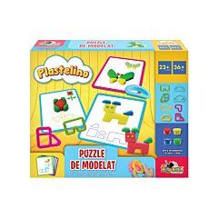 Set de joaca Puzzle de modelat Plastelino