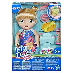 Papusa fetita Baby Alive Snackin Shapes, plastic, Multicolor