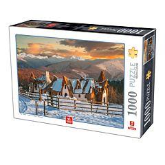 Puzzle Castel Valea Zanelor Deico Games, 1000 piese