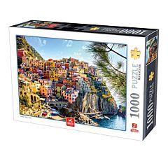 Puzzle Italia Cinque Terre Deico Games, 1000 piese