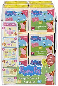 Set 6 figurine Surpriza Secreta Peppa Pig