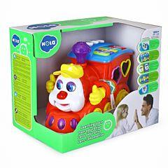 Trenulet de jucarie cu functii Hola, plastic, Multicolor