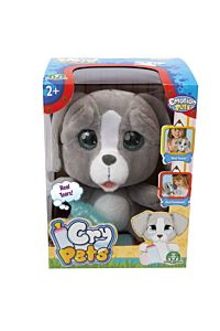 Catelus de plus Emotion Pets Cry Pets Giochi, 28x21x15 cm, Multicolor