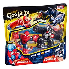 Set 2 figurine stretch Goo Jit Zu Marvel