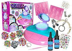 Set de creare bijuterii Gemex, 100 pietricele