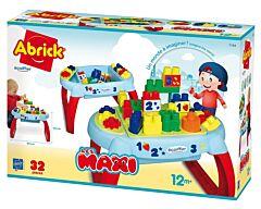 Set masuta cu cuburi Ecoiffier, 30 accesorii, Multicolor