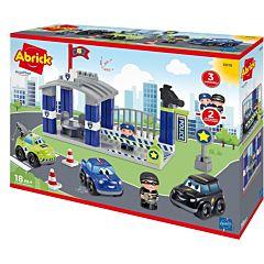 Joc de construit Statia de politie Abrick Ecoiffier