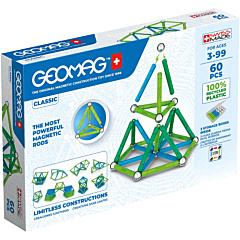Set de constructie Geomag Panels Green, 60 piese