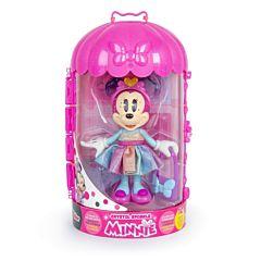 Papusa Minnie Crystal Sparkle, 10 accesorii, Multicolor