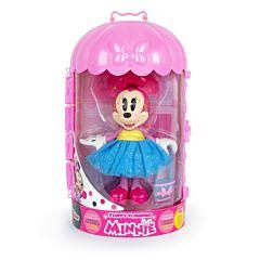 Papusa Minnie Fluffy Famingo, 10 accesorii, Multicolor